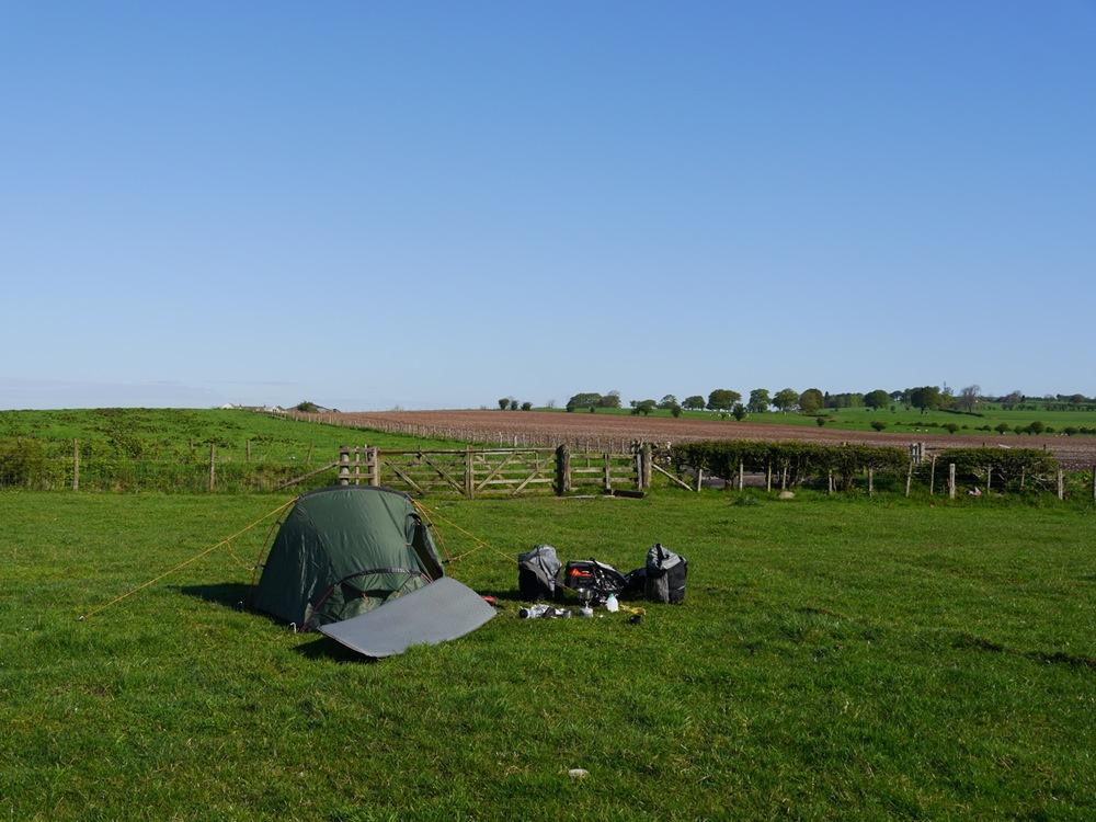 A sunny morning near Lockerbie