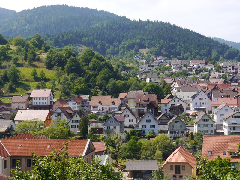 Forbach, nestled in the hills of the Black Forest.