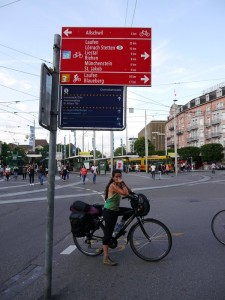 Basel and the cycle network.