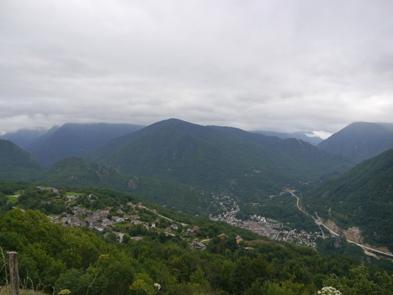 The view from the Col de Chioula.