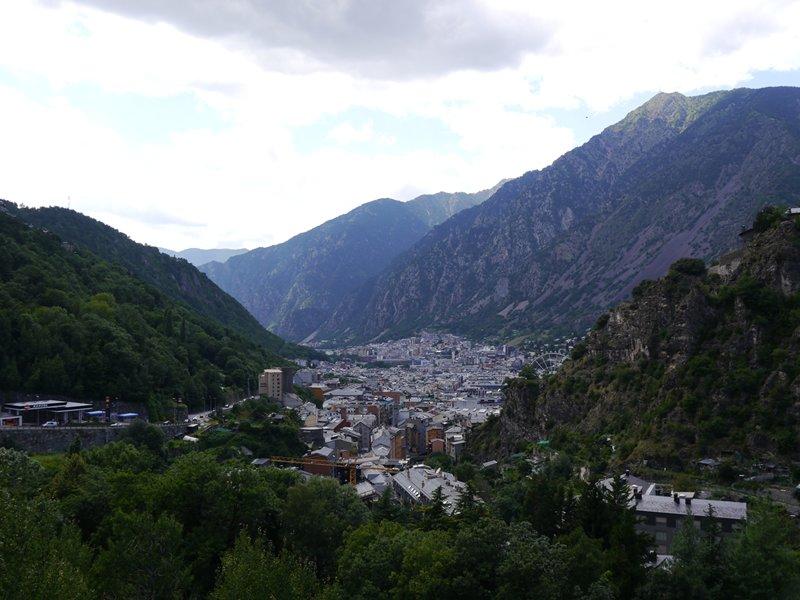 Andorra la Villa, the capital city of Andorra.