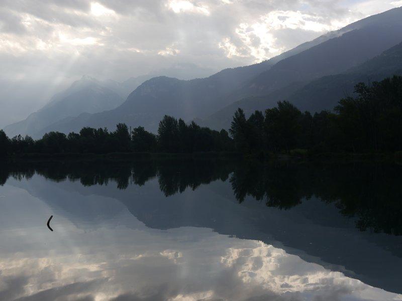 A lake in Switzerland 2