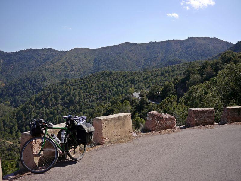 cycle touring barcelona valencia spain