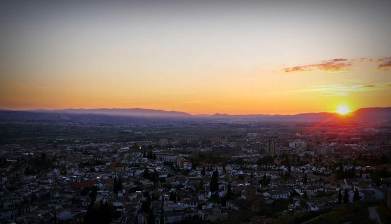 Sunset over Granda