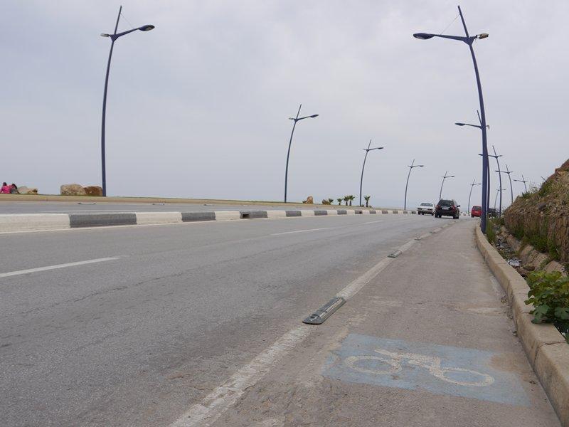 cycle path to Tetouan