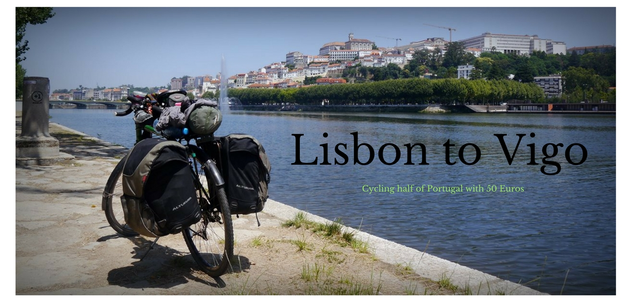 Cycling half of Portugal with 50 Euros