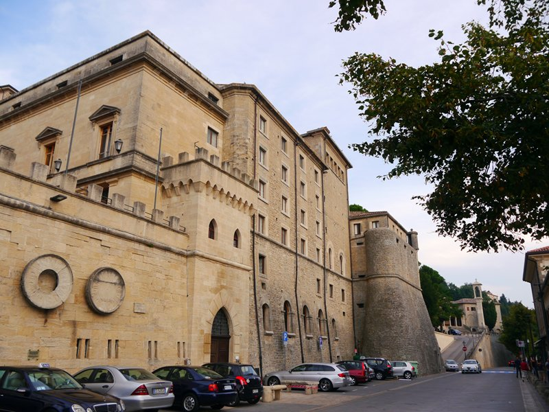 the city of San Marino