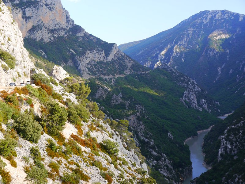 The Grand Canyon of Verdon. Very nice to cycle...