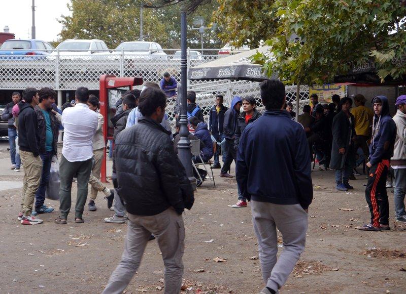 Refugees at Bristol Park