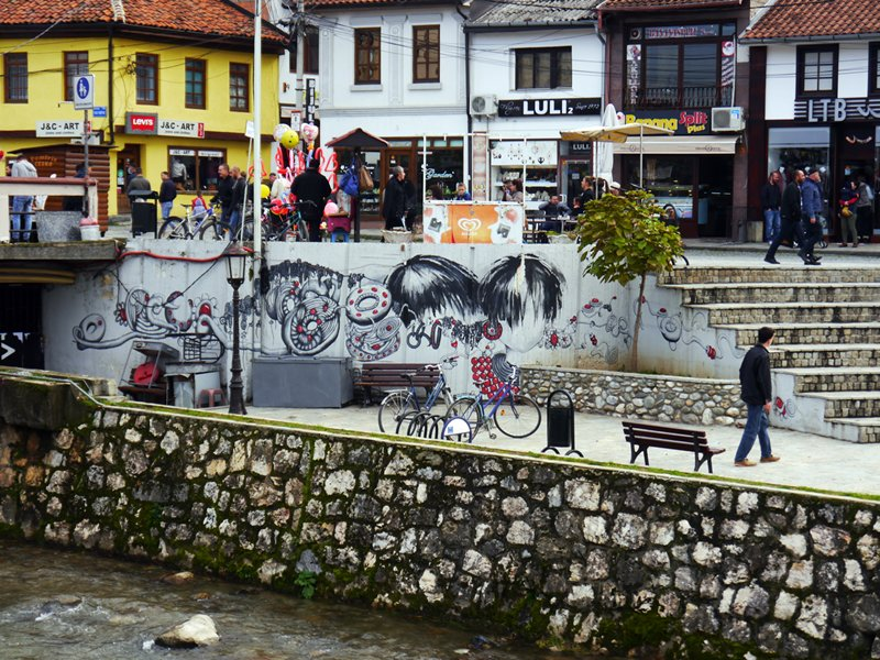Prizren city centre