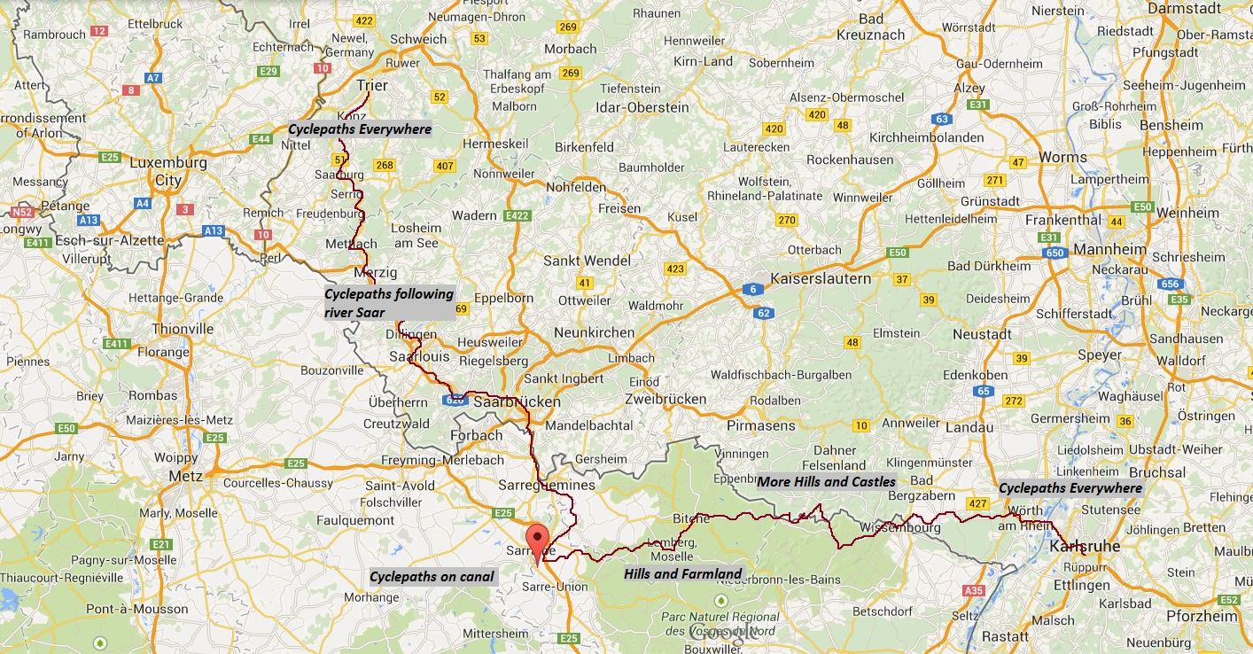 city bike map with Rhineland Saarland French German Border on Caps By Geography moreover Ratp Bus Map additionally Pope Beach besides Other likewise colwood.