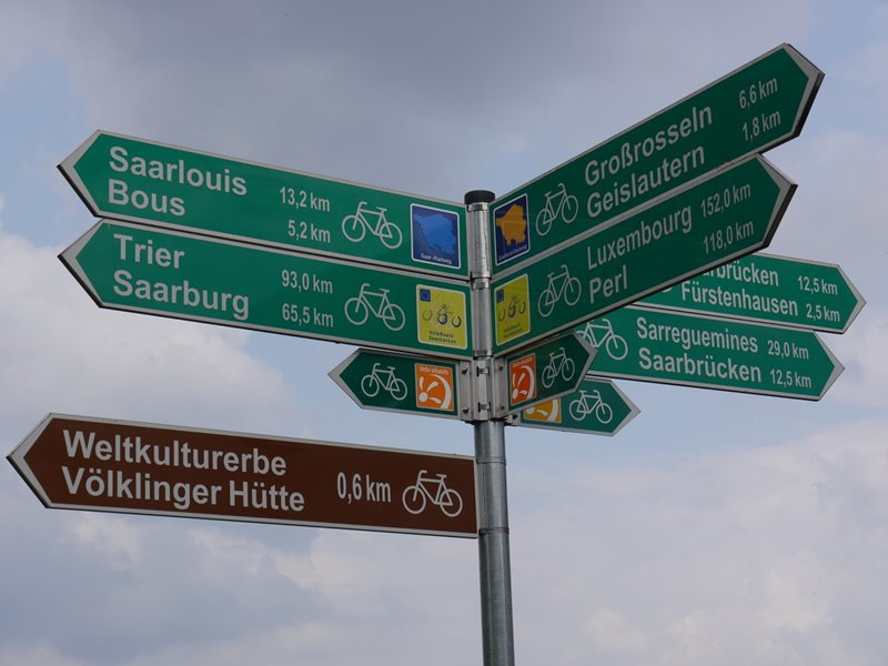 Literally spoilt for choice in terms of cycle routes. You can cycle hundreds of kilometres through stunning scenery without ever being on a road.