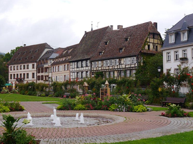 Wissingen in France, near the German border.