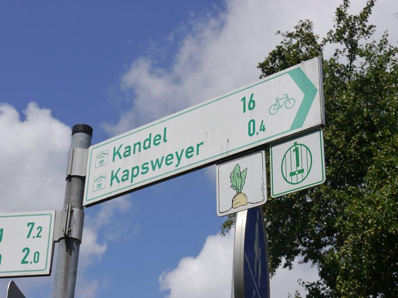 German cycle sign