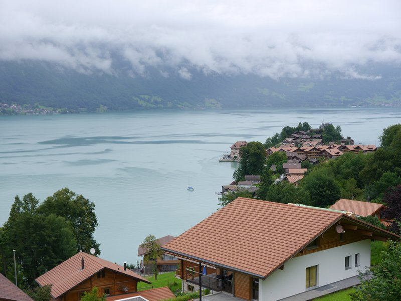 Lake Brienz, seperated from Lake Thun by Interlaken.