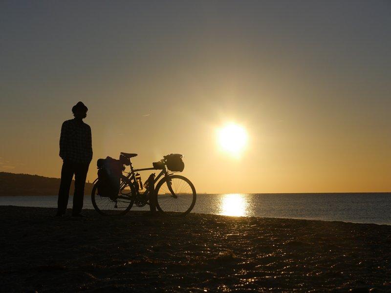 Me, bike and beach