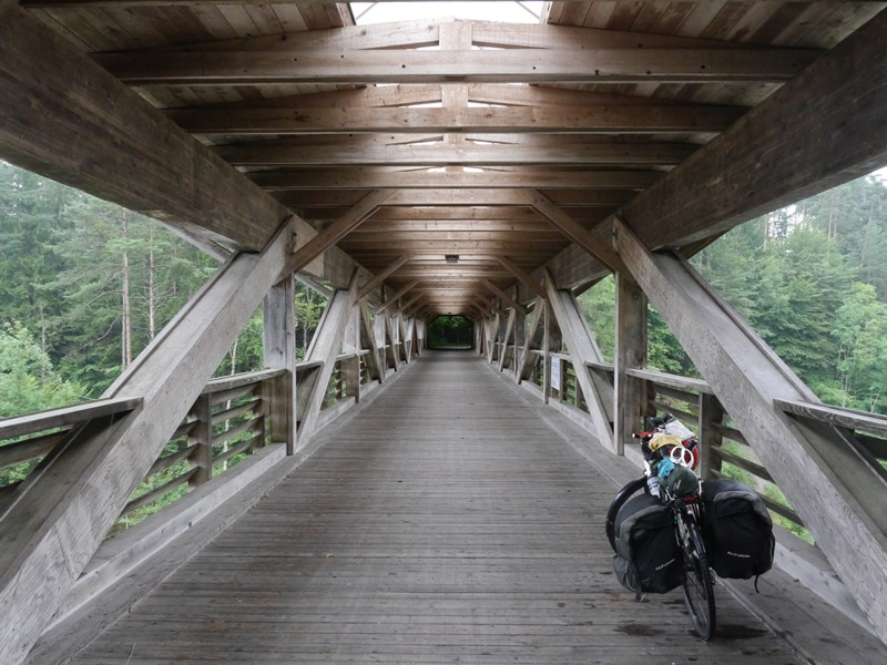 bicycle touring bridge