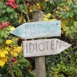 sign in belgium