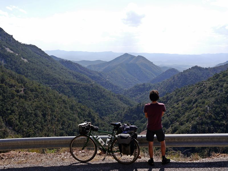 cycle touring mountains spain