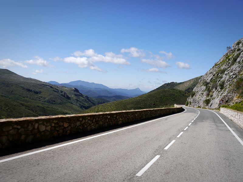 awesome spanish road