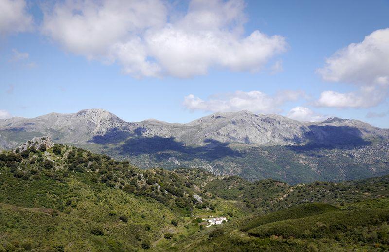 mountains near Ronda, Spain