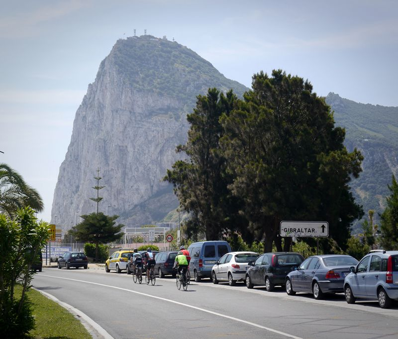 cycling to gibraltar