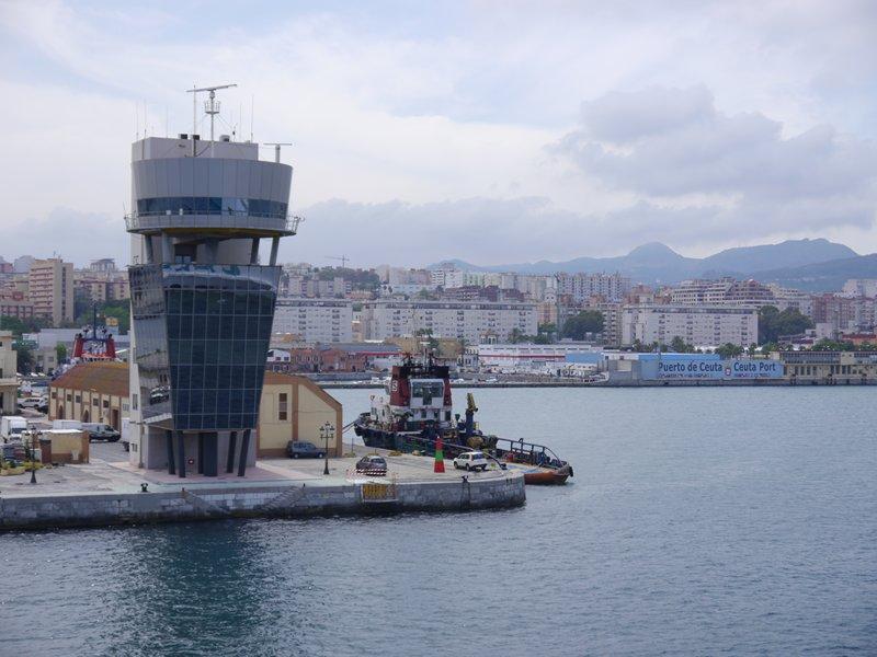 Ceuta port