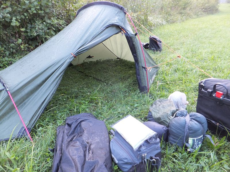 Vango Banshee 200 tent flysheet