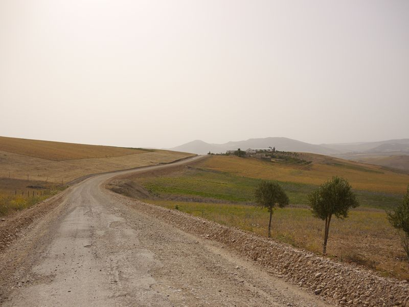 Cycling Chefchaouen to Fez