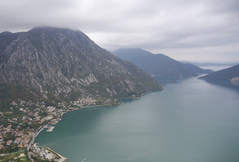 The Bay of Kotor, Montenegro.