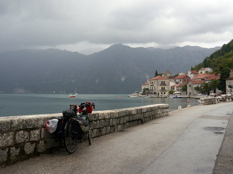 Perast on the Bay of Kotor