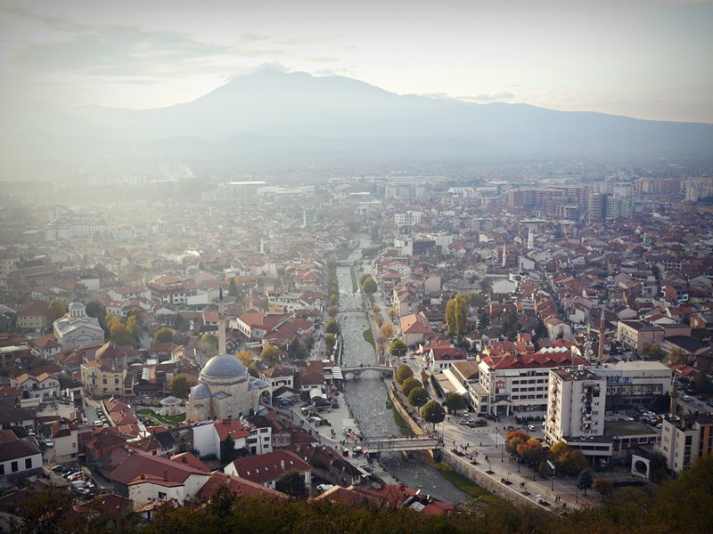 Prizren view from the fort