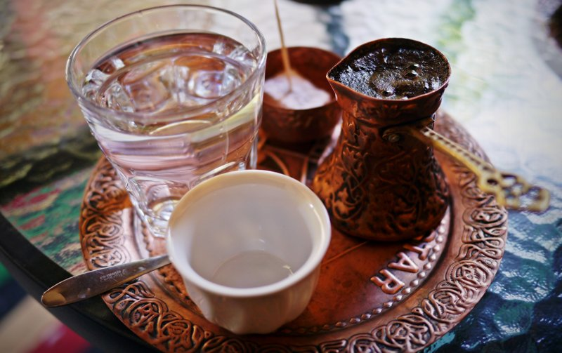 traditional bosnian turkish coffee