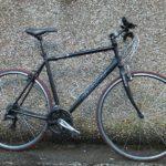 Giant hybrid bicycle