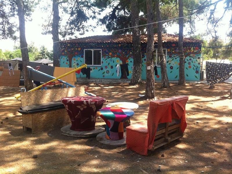 Pikpa camp common kitchen