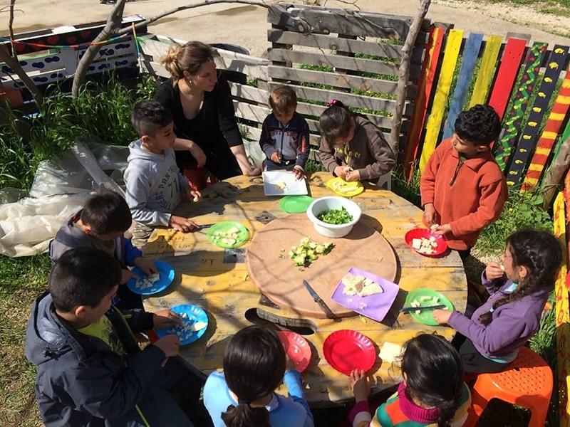 Pikpa Kindergarden open solidarity refugee camp