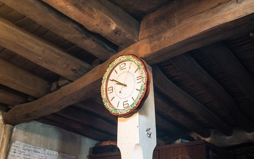 A Pamiri clock
