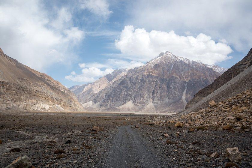 Mountain next to village of Khudara